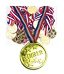 12 KIDS OLYMPIC GOLD WINNERS MEDALS P...