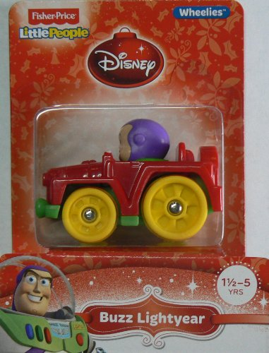 Fisher-Price Little People Wheelies Disney Buzz Lightyear