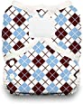 Thirsties Duo Wrap Diaper Cover with Hook and Loop, Scottish Storm, Size 1