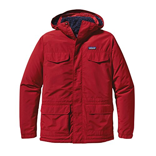 PATAGONIA GIACCA ISTHMUS PARKA 27021 CSRDC ROSSO