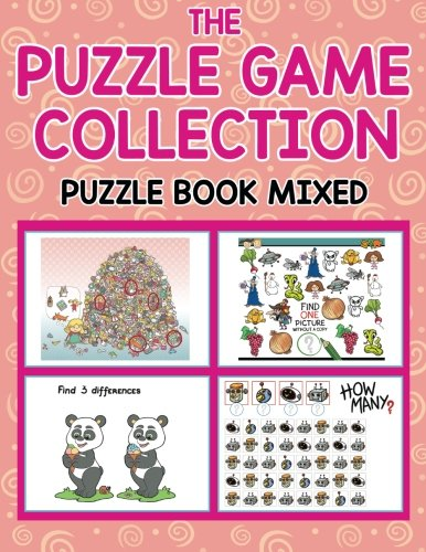 The-Puzzle-Game-Collection-Puzzle-Book-Mixed