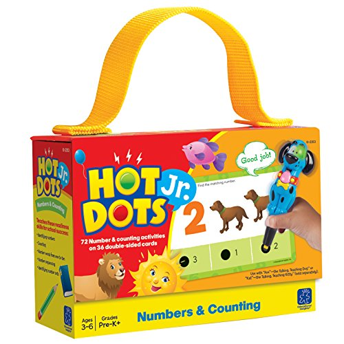 EDUCATIONAL INSIGHTS HOT DOTS JR. NUMBERS AND COUNTING CARD SET