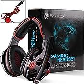 FOERTENG 7.1 SurroundSound Effect USB PC High-fidelity Stereo Gaming Headset Headphone Earset Earphone With Microphone... - B019DDJVZY