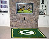 Fanmats Green Bay Packers Rug 5 x 8 ft