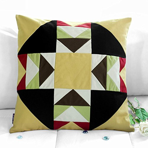 bunte Sofa / Bett dekorative Kissen Patchwork Kissen für Wohnkultur -