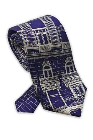 Bluprint, Architectural Design - Men's Silk Necktie