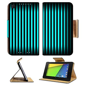 Black Pattern Turquoise Vertical Stripes Asus Google Nexus 7 FHD II 2nd Generation Flip Case Stand Magnetic Cover Open Ports Customized Made to Order Support Ready Premium Deluxe Pu Leather 8 1/4 Inch (210mm) X 5 1/2 Inch (120mm) X 11/16 Inch (17mm) MSD Nexus 7 Professional Nexus7 Cases Nexus_7 Accessories Graphic Background Covers Designed Model Folio Sleeve HD Template Designed Wallpaper Photo Jacket Wifi Luxury Protector coupons 2015