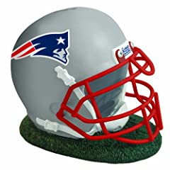 NFL New England Patriots Helmet Shaped Bank by The Memory Company