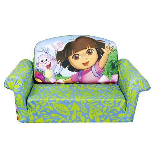 Marshmallow Children's Furniture – Marshmallow – Flip Open Sofa – Dora image