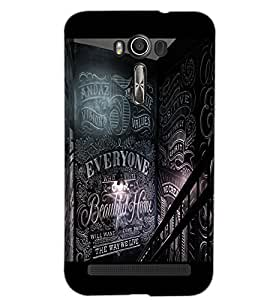 ASUS ZENFONE 2 LASER ZE550KL EVERYONE Back Cover by PRINTSWAG