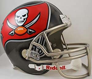 Tampa Bay Buccaneers Full Size Replica Football Helmet - New for 2014 by Riddell