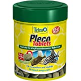 Tetra 756434 Pleco Tablets, Grünfutter-Tabletten mit einem hohen Anteil an Spirulina-Algen, 275 Tabletten