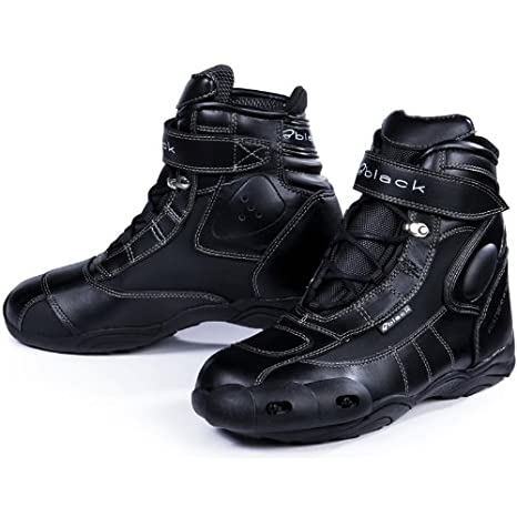 Black FC-Tech Bottes de Motorcycle