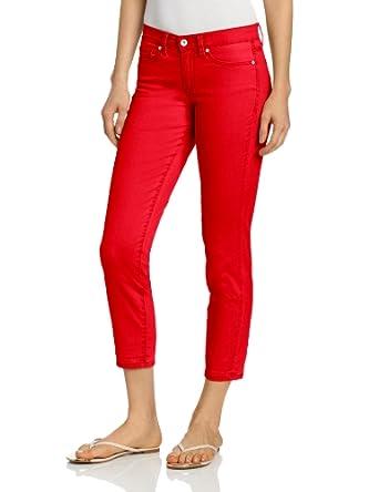 (大降)Calvin Klein女士淡粉色修身牛仔7分裤Jeans Petite Skinny Ankle Crop $24.97