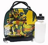 Ninja Turtles Black lunch Bag with Water Bottle