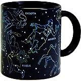 Constellation Coffee Mug Heat Activated, Constellations Magically Appear: Cool Coffee Mug Unique Coffee Mug