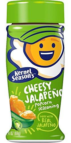 Kernel Season's Cheesy Jalapeno Popcorn Seasoning, 2.4 Ounce Shakers (Pack of 6)