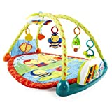 Bright Starts 2-in-1 Convert Me Activity Table and Gym Color: Multicolored Infant, Baby, Child