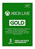 Microsoft Xbox Live Gold 3 Month Membership Card Xbox 360 / One FAST DELIVERY