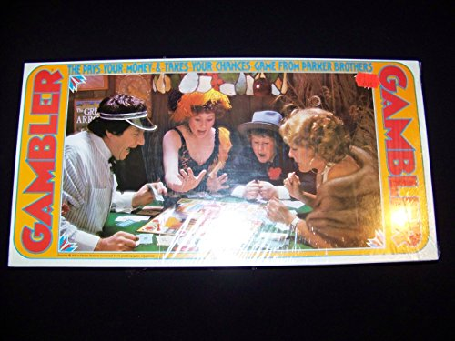 1977 Gambler Game By Parker Brothers - 1