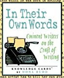 In Their Own Words: Eminent Writers on the Craft of Writing Knowledge Cards Deck (0764920316) by Pomegranate