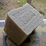All Natural Aged 13 Oz Limited Volcanic Ash Soap- Cocoa Butter and Patchouli