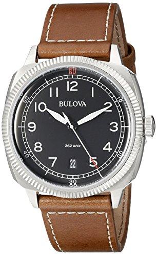 Bulova-Mens-96B230-Military-Analog-Display-Japanese-Quartz-Brown-Watch