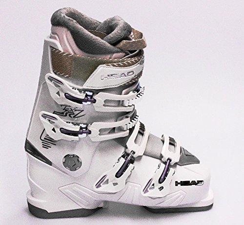 Skischuhe Skistiefel Head FX 7 W Damen White Schnallen 4 MP 25,5 etwa Gr 39,5,5 2014/15