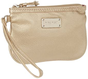 (赶紧)Nine West玖熙女士零钱包手拿钱包Cant Stop Shopper Small Wristlet$10.04