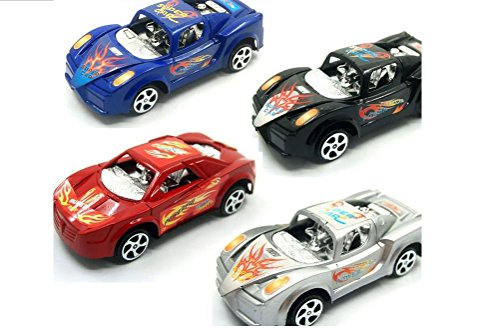 Pull Back Luxury Car Model Assortment Set of 4,color May Vary (Pull Back 4pcs)