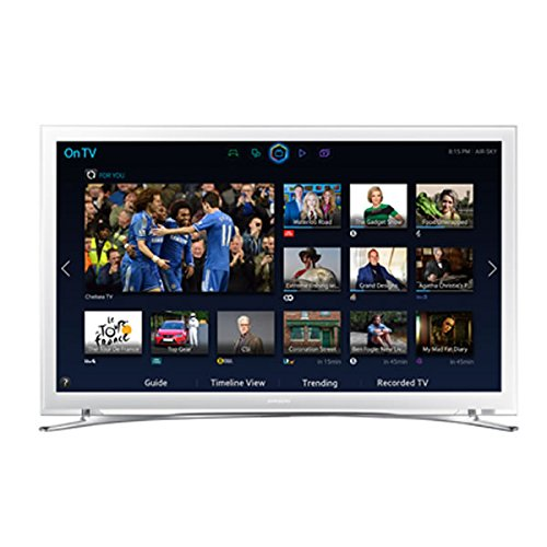 Samsung UE32H4510 32-inch Widescreen HD Ready LED Smart TV with Built-In Wi-Fi and Freeview HD (White)