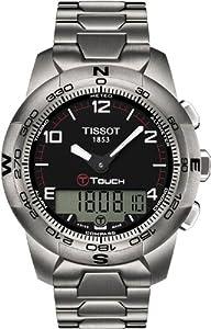 Tissot T047.420.44.057.00 - Orologio da polso, titanio, colore: argento
