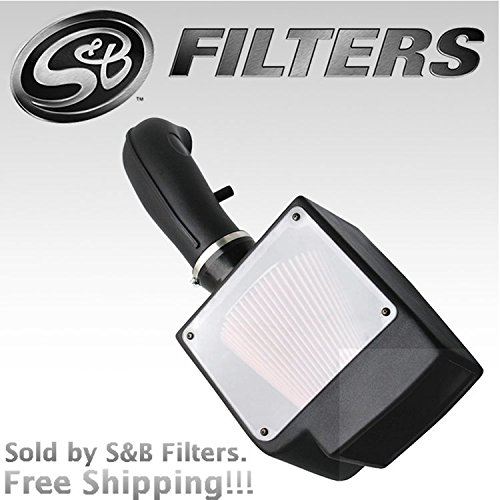 S&B Filters 75-3013-2 Cold Air Intake Kit for 1996-2000 Chevy / GMC C/K 2500 3500 / Yukon / Denali Suburban (Cleanable Filter)