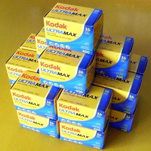 コダック 35mmカラーネガフィルム ULTRAMAX 400 36枚撮 20本