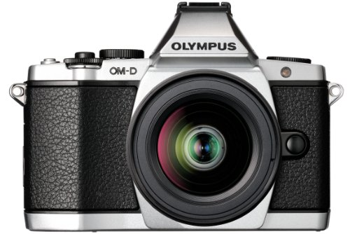 Olympus OM-D EM-5 Micro Four Thirds Interchangeable Lens Camera - Silver (16.1MP, Live MOS, M.Zuiko 12-50mm Lens) 3.0 inch OLED