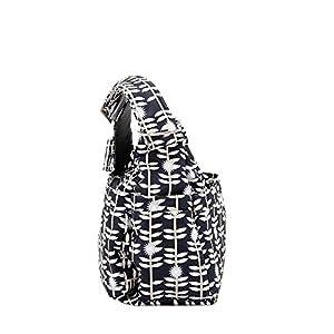 Ju-Ju-Be Hobobe Diaper Bag - Dandy Lines from Ju Ju Be