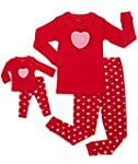 """Leveret """"Hearts"""" 2 Piece Matching Kid..."""