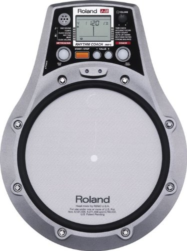 Roland RMP-5 -inch  Practice Pad with PCM Sound Engine, 54 Sounds Onboard, Mix input for Playing CD Players and Audio Devices