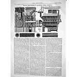 Technik von Brinjes-Verbesserungen 1865, die Tierkohle-Maschinerie Wieder-Brennen