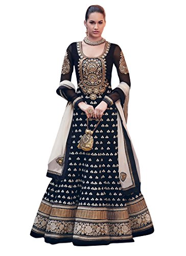 DivyaEmporio Women's Ethnic Salwar Suit Dupatta Unstitched Dress Material (Free Size)