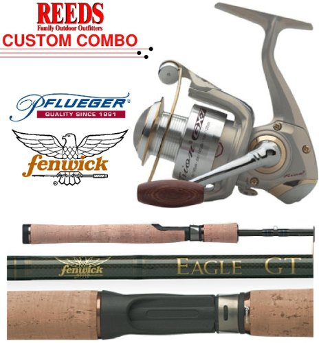 Pflueger Trion 4725GX Reel / Fenwick Eagle GT 6'6