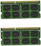 Crucial 8GB Kit (4GBx2) DDR3/DDR3L 1066 MT/s (PC3-8500)  SODIMM 204-Pin Mac Memory CT2K4G3S1067M / CT2C4G3S1067M
