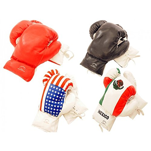 USA 14oz Boxing Gloves*Only 1 Glove* pu leather usa boxing gloves with american flag pair