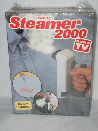 Garment And Fabric Steamer 2000 No Salt Required As Seen On Tv Clothes Steamer