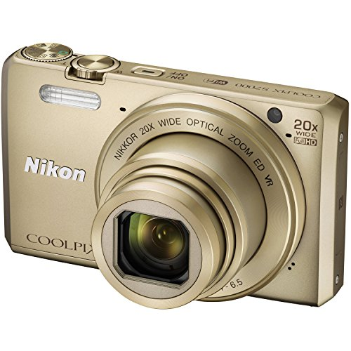 Nikon-Coolpix-S7000-16-MP-Point-and-Shoot-Camera-Gold-with-20x-Optical-Zoom-8GB-Memory-Card-and-Camera-Case