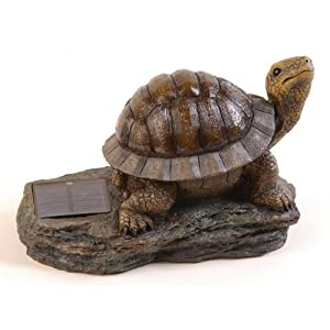 Click to buy Pine Top Decorative Solar Turtle Night Light with Amber LED from Amazon!