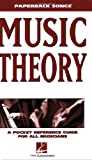 Music Theory: A Pocket Reference Guide for All Musicians (Paperback Songs)