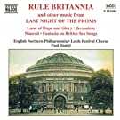 "Rule Britannia and other music from ""The Last Night of the Proms"" (Naxos: 8.553981)"