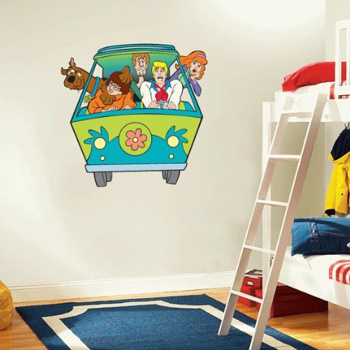 Scooby Doo Cartoon Wall Decal Sticker 22 x 23. Scooby Doo Wall Decals   Totally Kids  Totally Bedrooms   Kids