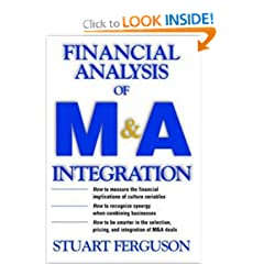 Financial Analysis of M&A Integration : A Quantitative Measurement Tool for Improving Financial Performance